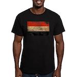 Yemen Flag Men's Fitted T-Shirt (dark)