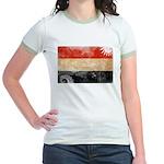 Yemen Flag Jr. Ringer T-Shirt
