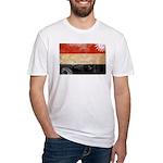 Yemen Flag Fitted T-Shirt