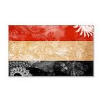 Yemen Flag 22x14 Wall Peel