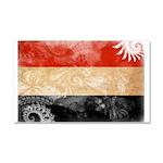Yemen Flag Car Magnet 20 x 12