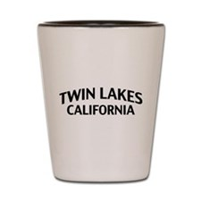 Twin Lakes California Shot Glass