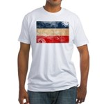Yugoslavia Flag Fitted T-Shirt