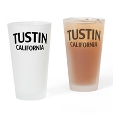 Tustin California Drinking Glass