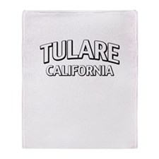 Tulare California Throw Blanket