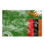 Zambia Flag Postcards (Package of 8)