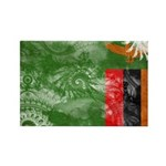 Zambia Flag Rectangle Magnet (10 pack)