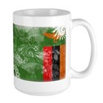 Zambia Flag Large Mug