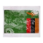 Zambia Flag Throw Blanket