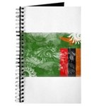 Zambia Flag Journal