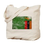 Zambia Flag Tote Bag