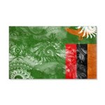 Zambia Flag 22x14 Wall Peel