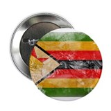 "Zimbabwe Flag 2.25"" Button"