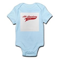 All American Boy Infant Creeper