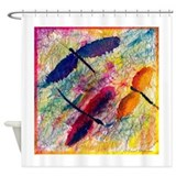 Dragonflies Shower Curtain