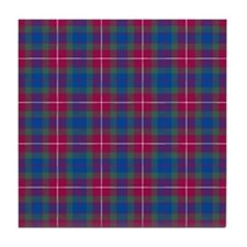 Tartan - Fraser of Lovat Tile Coaster