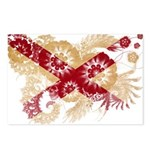Alabama Flag Postcards (Package of 8)