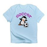 Soccer Penguin Infant T-Shirt