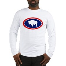 Wyoming Buffalo Long Sleeve T-Shirt