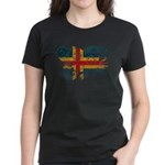 Alaska Flag Women's Dark T-Shirt