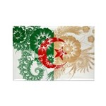 Algeria Flag Rectangle Magnet
