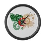 Algeria Flag Large Wall Clock