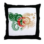Algeria Flag Throw Pillow