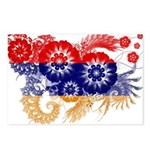 Armenia Flag Postcards (Package of 8)