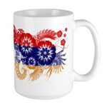Armenia Flag Large Mug