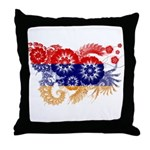 Armenia Flag Throw Pillow