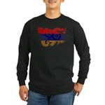 Armenia Flag Long Sleeve Dark T-Shirt