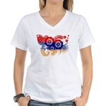 Armenia Flag Women's V-Neck T-Shirt