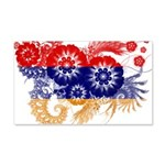 Armenia Flag 22x14 Wall Peel