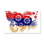 Armenia Flag Car Magnet 20 x 12