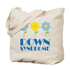 Down Syndrome Daisies Tote Bag