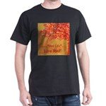 Red Tree Black T-Shirt