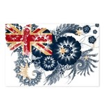 Australia Flag Postcards (Package of 8)