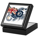 Australia Flag Keepsake Box