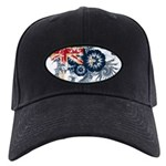 Australia Flag Black Cap