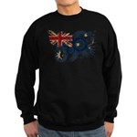 Australia Flag Sweatshirt (dark)