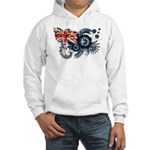 Australia Flag Hooded Sweatshirt