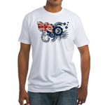 Australia Flag Fitted T-Shirt