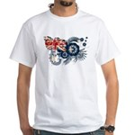Australia Flag White T-Shirt