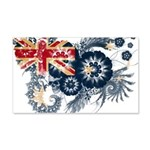 Australia Flag 22x14 Wall Peel