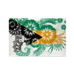 Bahamas Flag Rectangle Magnet (100 pack)
