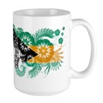 Bahamas Flag Large Mug