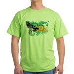 Bahamas Flag Green T-Shirt