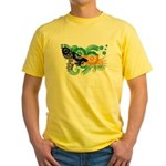 Bahamas Flag Yellow T-Shirt