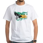 Bahamas Flag White T-Shirt