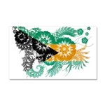 Bahamas Flag Car Magnet 20 x 12